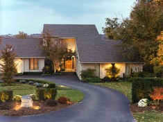 Boston landscape lighting contractor